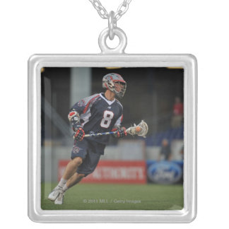 ANNAPOLIS, MD - JUNE 25:  Greg Downing #8 Silver Plated Necklace