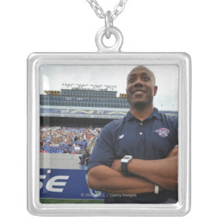 ANNAPOLIS, MD - JUNE 25:  Head coach Billy Day Silver Plated Necklace