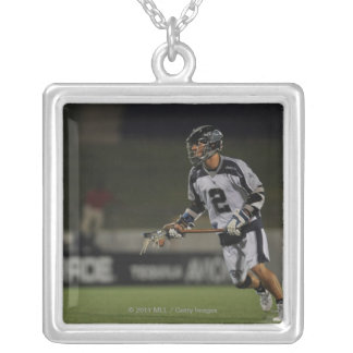 ANNAPOLIS, MD - JUNE 25:  Justin Smith #2 Silver Plated Necklace