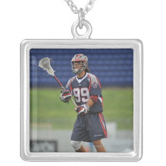 ANNAPOLIS, MD - JUNE 25:  Paul Rabil #99 11 Silver Plated Necklace