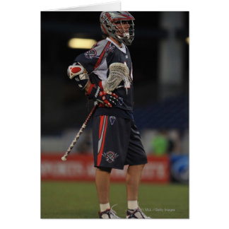 ANNAPOLIS, MD - JUNE 25:  Ryan Boyle #14 7 Greeting Card
