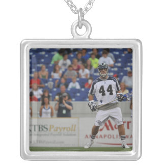ANNAPOLIS, MD - JUNE 25:  Steven Brooks #44 Silver Plated Necklace