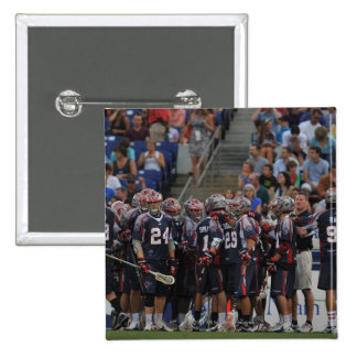 ANNAPOLIS, MD - JUNE 25:  The Boston Cannons 15 Cm Square Badge