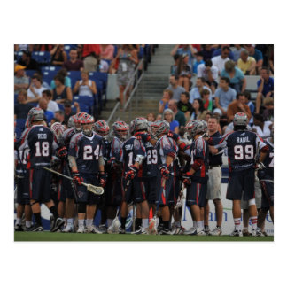 ANNAPOLIS, MD - JUNE 25:  The Boston Cannons Postcard