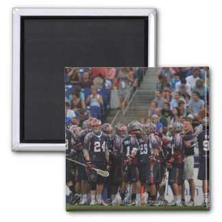 ANNAPOLIS, MD - JUNE 25:  The Boston Cannons Square Magnet