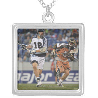 ANNAPOLIS, MD - MAY 14:  Ben Hunt #18 Silver Plated Necklace