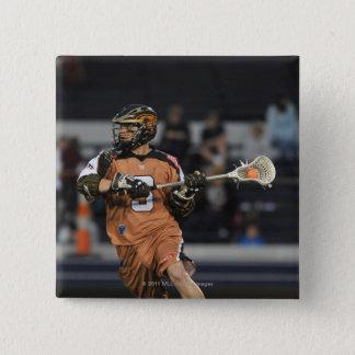 ANNAPOLIS, MD - MAY 14:  Brett Garber #3 2 15 Cm Square Badge