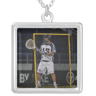ANNAPOLIS, MD - MAY 14:  Chris Garrity #15 3 Silver Plated Necklace