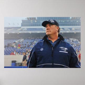 ANNAPOLIS, MD - MAY 14:  Head coach Brendan Print