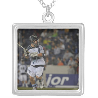 ANNAPOLIS, MD - MAY 14:  Michael Kimmel #51 4 Silver Plated Necklace