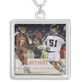 ANNAPOLIS, MD - MAY 14:  Michael Kimmel #51 5 Silver Plated Necklace