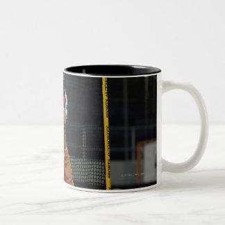 ANNAPOLIS, MD - MAY 14:  Mike Gabel #19 Two-Tone Mug