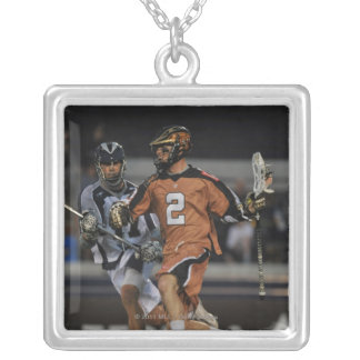 ANNAPOLIS, MD - MAY 14:  Ned Crotty #2 10 Silver Plated Necklace