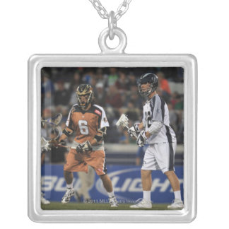 ANNAPOLIS, MD - MAY 14:  Shawn Nadelen #32 2 Silver Plated Necklace