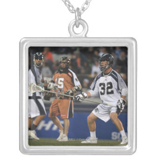 ANNAPOLIS, MD - MAY 14:  Shawn Nadelen #32 Silver Plated Necklace