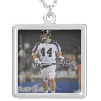 ANNAPOLIS, MD - MAY 14:  Steven Brooks #44 Silver Plated Necklace