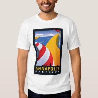 Annapolis, Sails Tee Shirt
