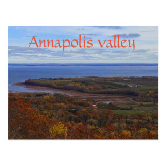 Annapolis Valley in Nova Scotia postcard