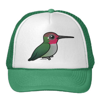 Anna's Hummingbird Mesh Hats
