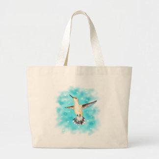 Anna's Hummingbird Jumbo Tote Bag
