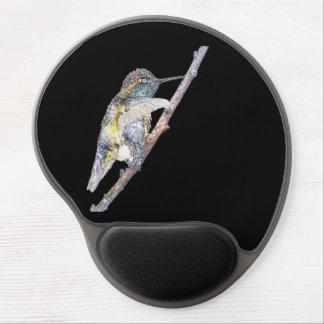 Anna's Hummingbird Mousepad Photo Art Gel Mouse Mat