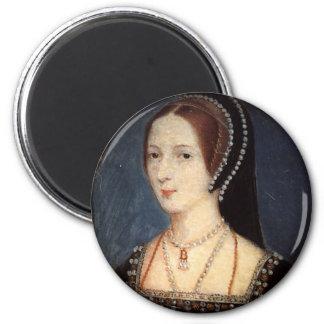 Anne Boleyn 6 Cm Round Magnet