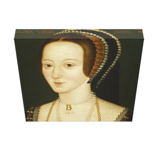 Anne Boleyn - Canvas Wrap Canvas Print