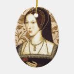 Anne Boleyn Ceramic Oval Decoration
