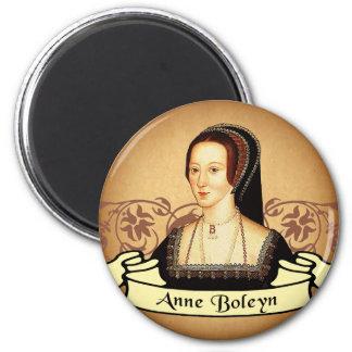 Anne Boleyn Classic 6 Cm Round Magnet
