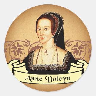 Anne Boleyn Classic Classic Round Sticker