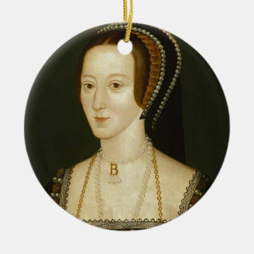 Anne Boleyn Christmas Ornament