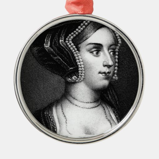 Anne Boleyn Christmas Tree Ornaments
