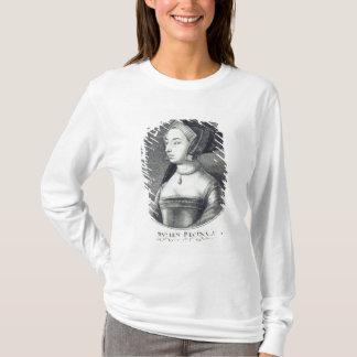 Anne Boleyn, etched by Wenceslaus Hollar, 1649 T-Shirt