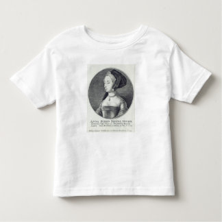 Anne Boleyn, etched by Wenceslaus Hollar, 1649 Toddler T-Shirt