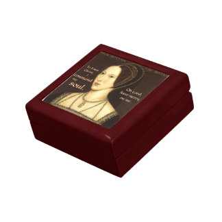 Anne Boleyn Execution Prayer Box