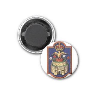 Anne Boleyn Falcon Badge Magnet