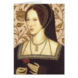 Anne Boleyn Greeting Card