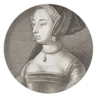 Anne Boleyn Dinner Plate