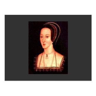 Anne Boleyn Postcard