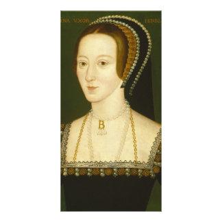 Anne Boleyn Second Wife of Henry VIII Portrait Customized Photo Card