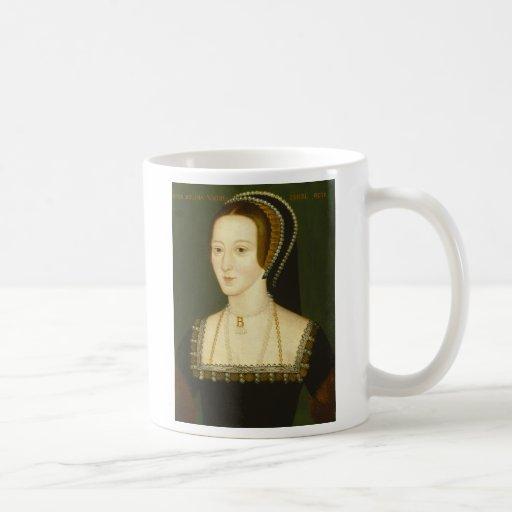 Anne Boleyn Second Wife of Henry VIII Portrait Mugs