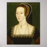 Anne Boleyn Second Wife of Henry VIII Portrait Poster