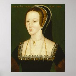 Anne Boleyn Second Wife of Henry VIII Portrait Print