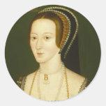 Anne Boleyn Second Wife of Henry VIII Portrait Stickers