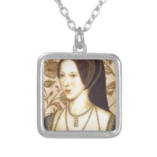 Anne Boleyn Silver Plated Necklace