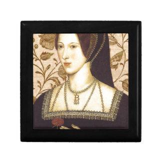 Anne Boleyn Small Square Gift Box