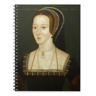 Anne Boleyn Spiral Note Books