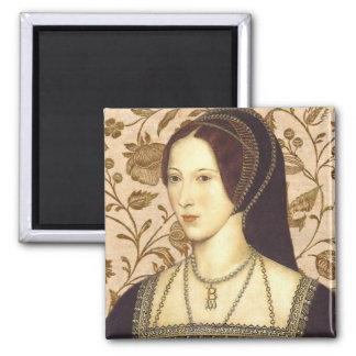 Anne Boleyn Square Magnet