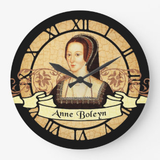 Anne Boleyn Wallclock
