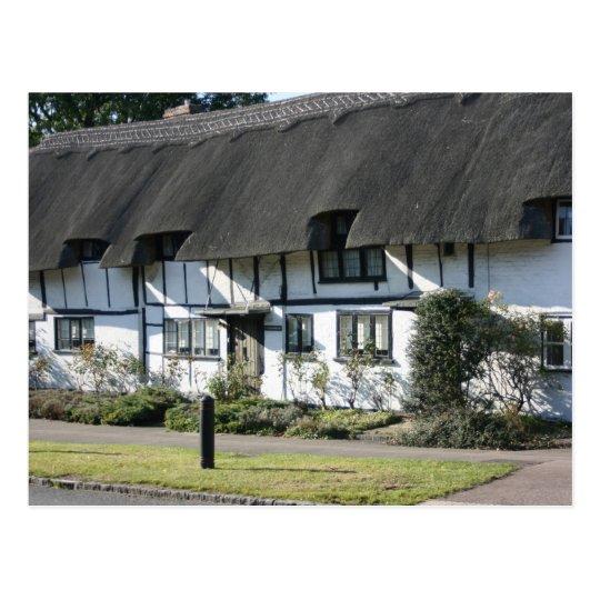 Anne Boleyn's cottages at Wendover, UK Postcard
